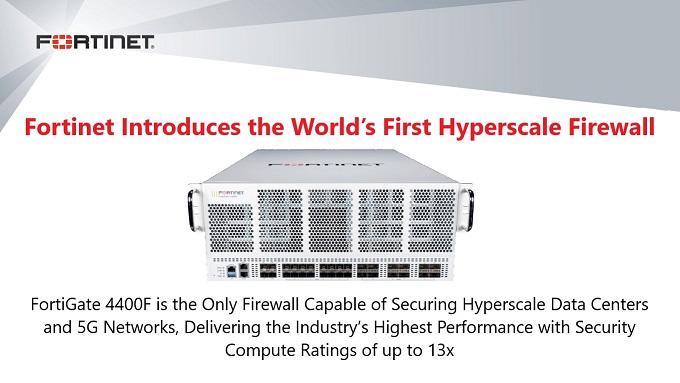 FG4400F Hyperscale firewall