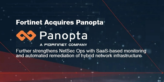 Fortinet acquires Panopta