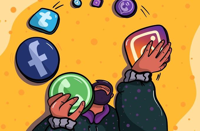 kaspersky social media