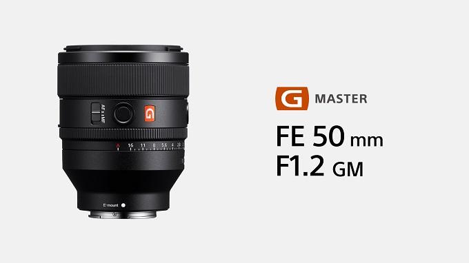 Pic_Sony Lens FE 50mm F1.2 GM(SEL50F12GM)-01
